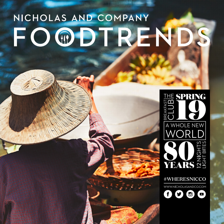 Food Trends Magazine Cover